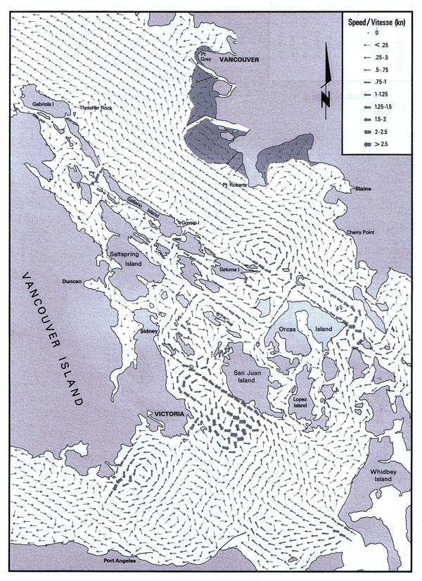 canadian current atlas - Tide Flow Chart