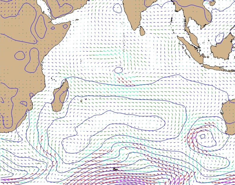 Ocean Weather Map.Online Classroom South Atlantic Indian Ocean Weather Charts